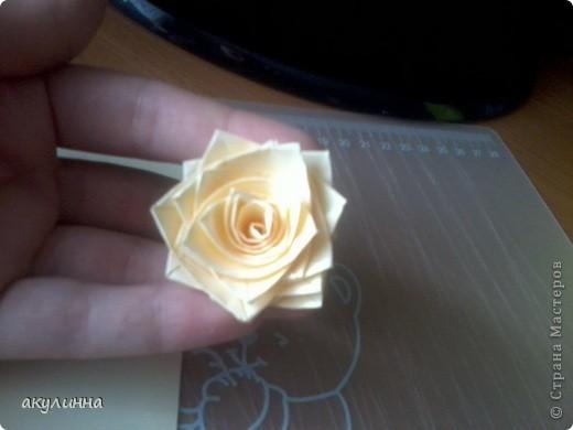 Как сделать розу из квиллинга своими руками 62